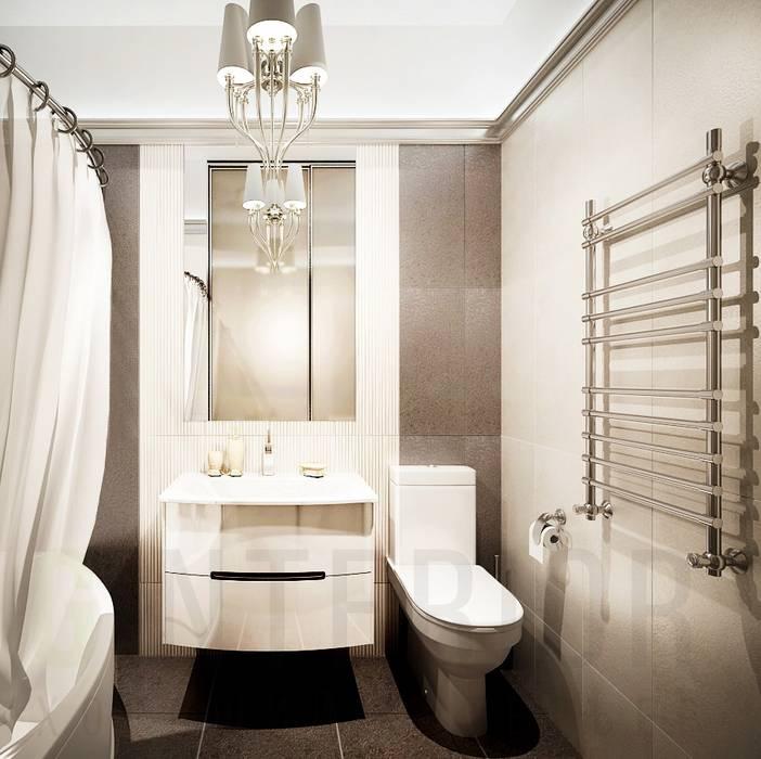 Classic style bathrooms by Дизайн студия 'Хороший интерьер' Classic