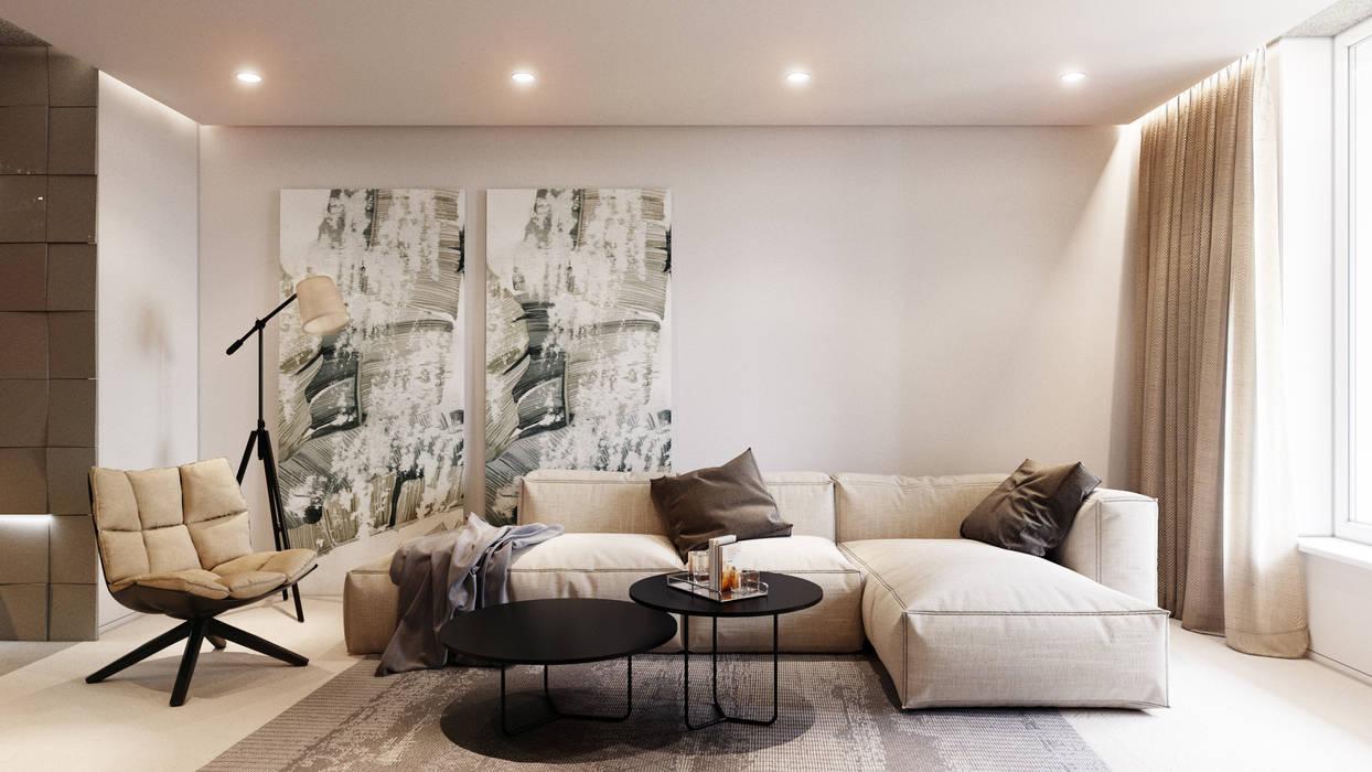 Livings de estilo moderno de ParcH Moderno