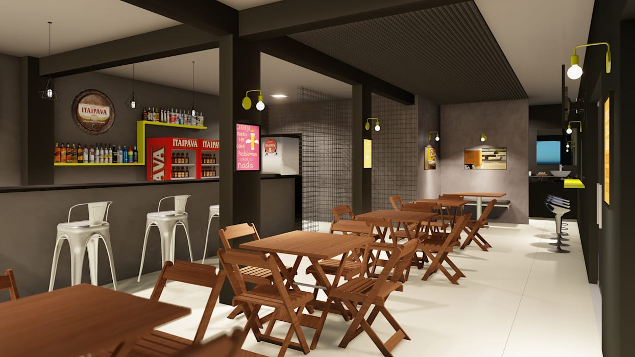 Bars & clubs by Leaf Arquitetura, Industrial