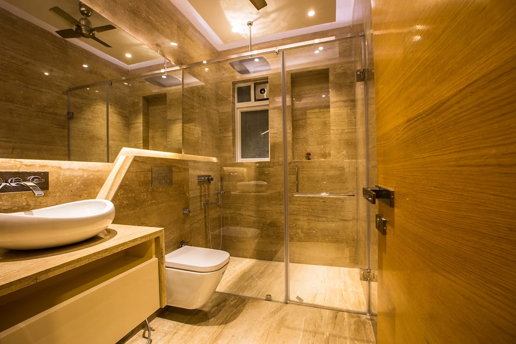 S Residence:  Bathroom by Design Radiance,Modern