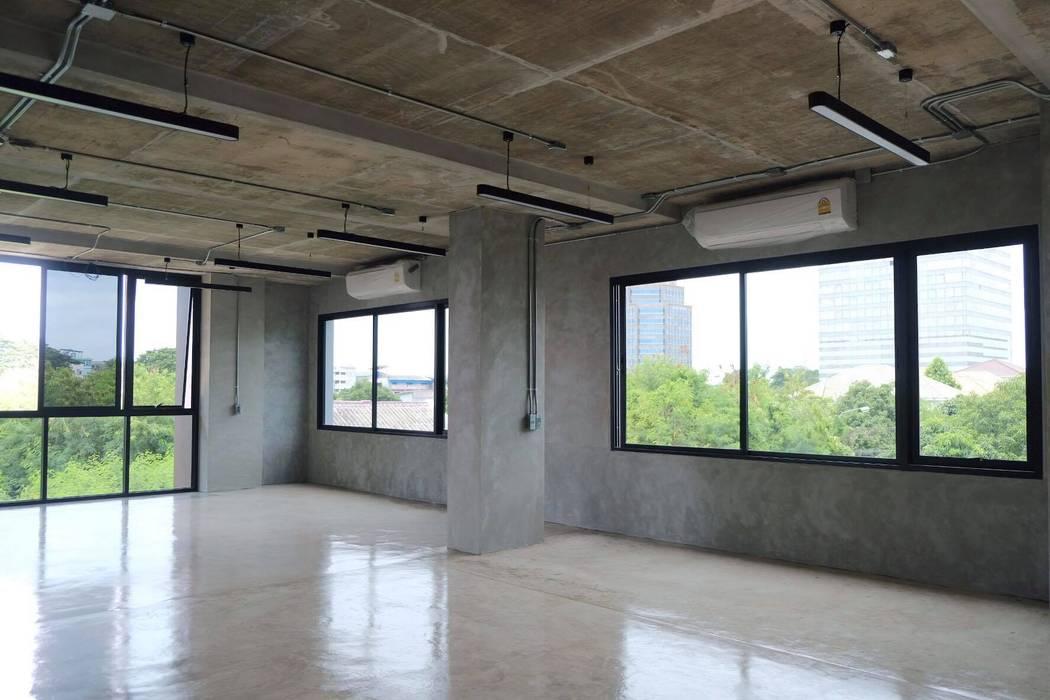 HOME OFFICE โดย Glam interior- architect co.,ltd โมเดิร์น ไม้ Wood effect