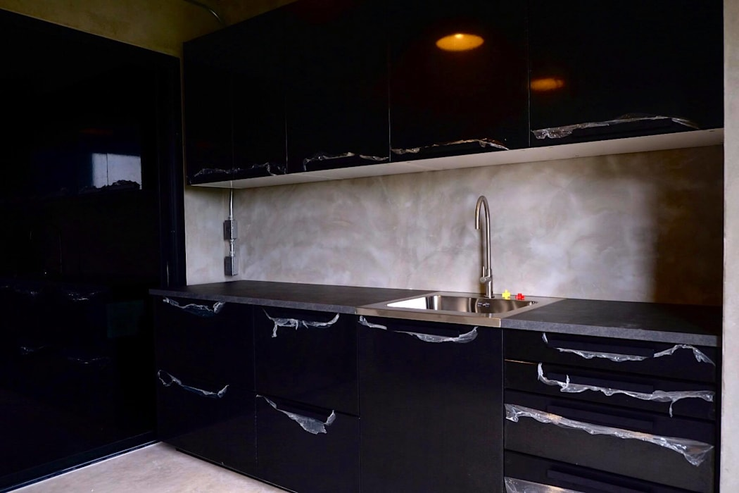 HOME OFFICE:  บ้านเดี่ยว โดย Glam interior- architect co.,ltd, โมเดิร์น คอนกรีต
