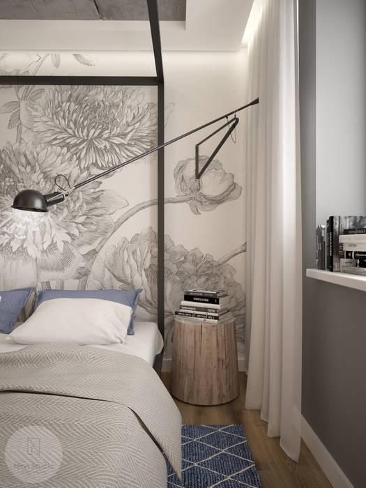 Nevi Studio Industrial style bedroom