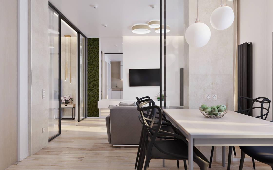 Kitchen by 'Академия Пространства' бюро архитектуры и дизайна, Minimalist
