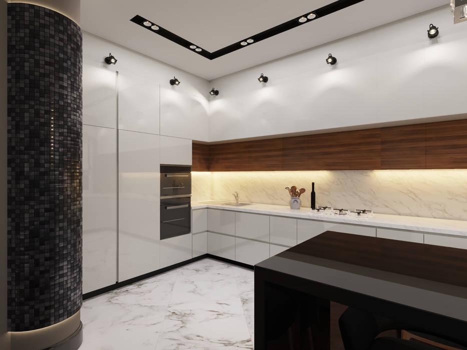 by Дизайн студия 'Чехова и Компания' Eclectic Wood Wood effect