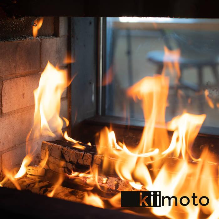 Living room by kiimoto kamine, Modern Stone