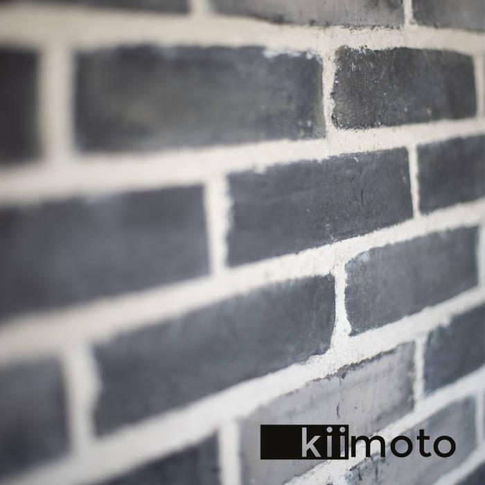 Steinhintergrund:  Wohnzimmer von kiimoto kamine,