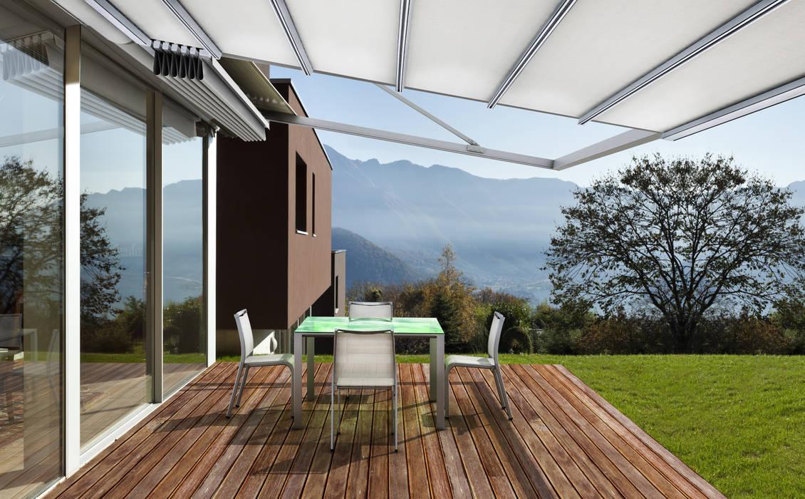 by Parasoles Tropicales - Arquitectura Exterior Modern Aluminium/Zinc