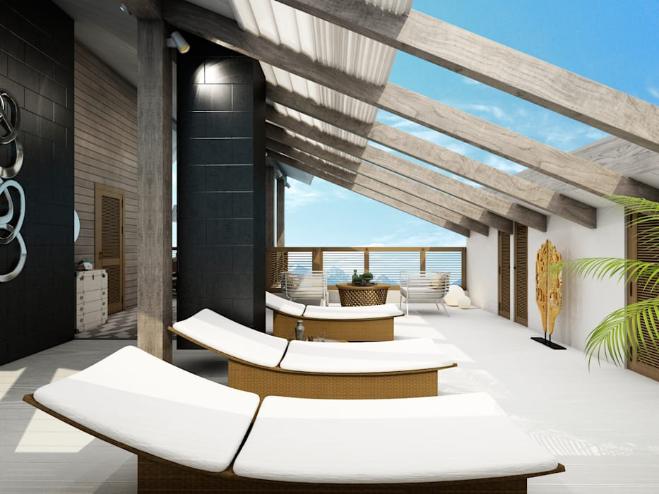 «Cream dream» Балкон и терраса в классическом стиле от Wide Design Group Классический