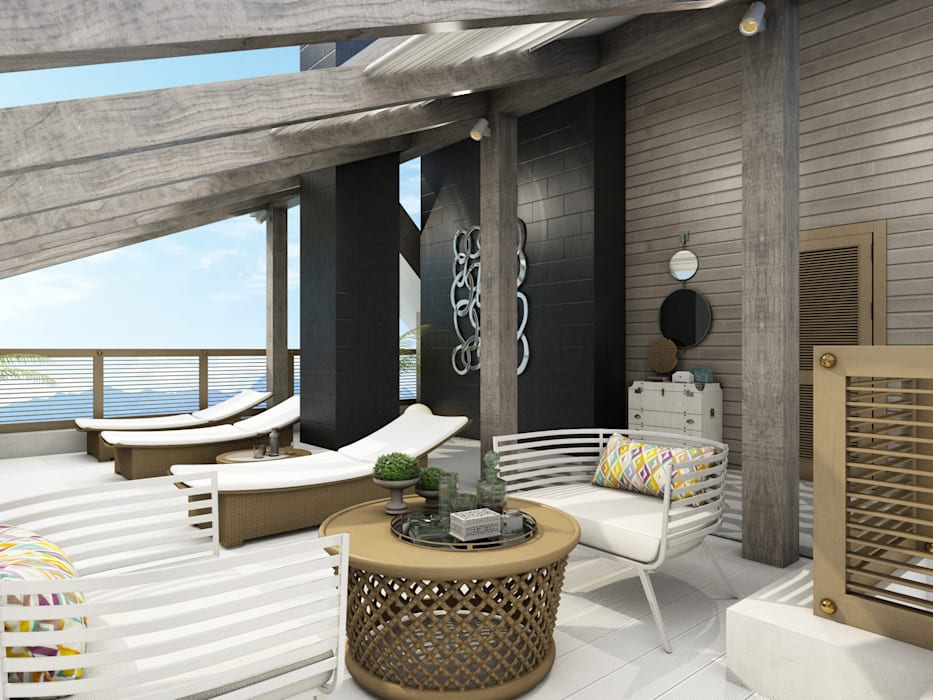 Balcone, Veranda & Terrazza in stile classico di Wide Design Group Classico