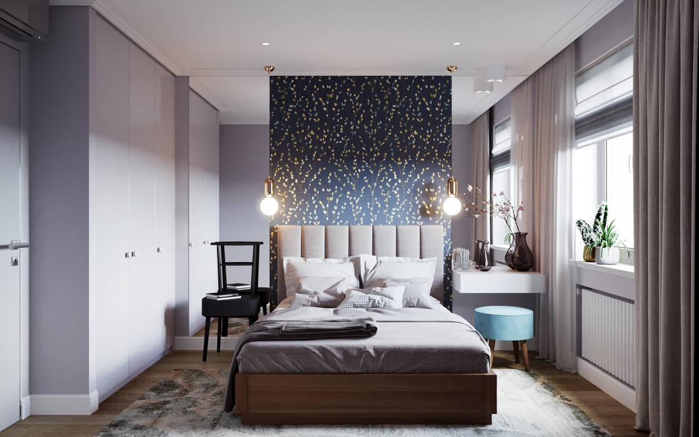 Chambre moderne par homify Moderne