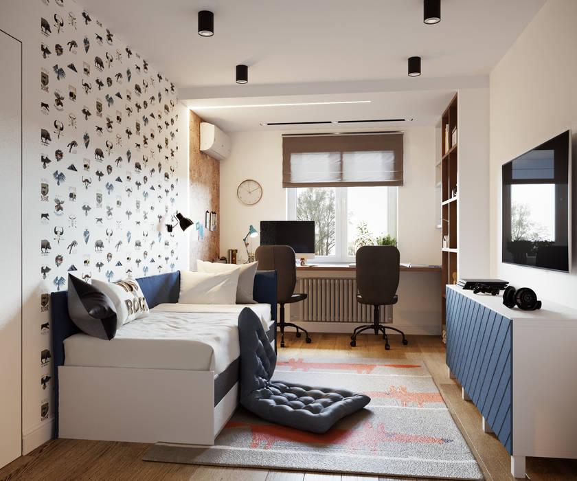 Квартира на Сиреневом бульваре Детская комната в стиле модерн от Goroh бюро Модерн