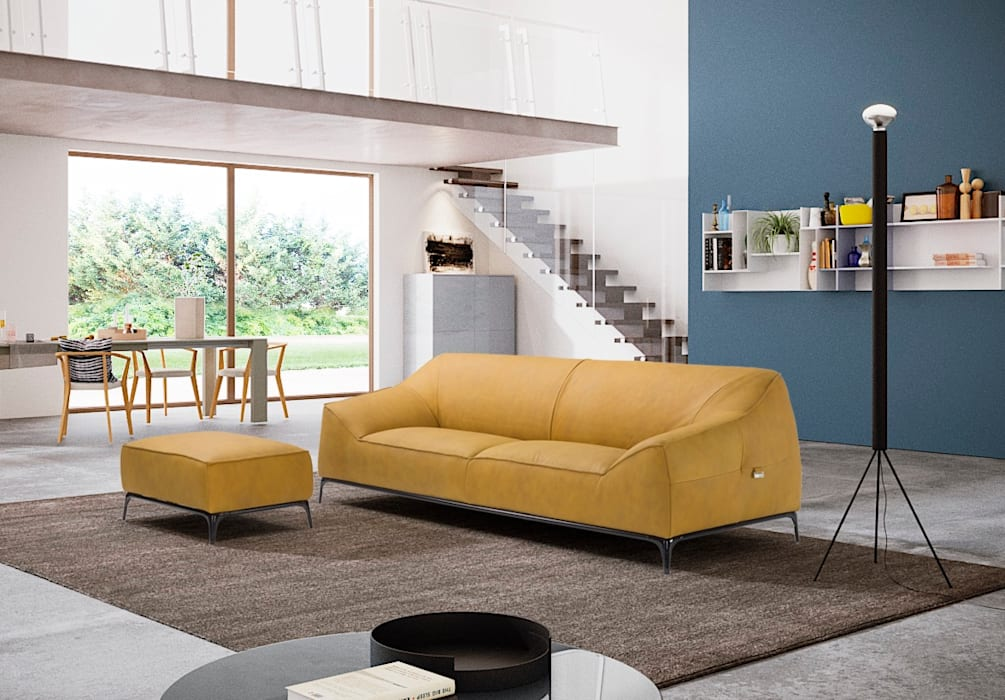 Living room by Delta Salotti, Modern