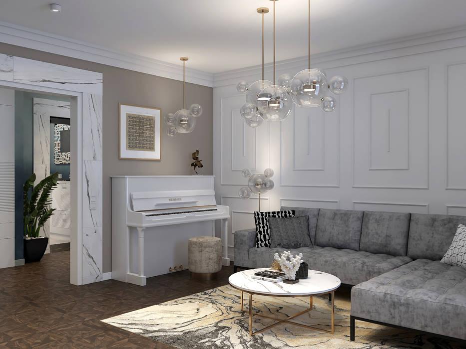 Livings de estilo clásico de Wide Design Group Clásico