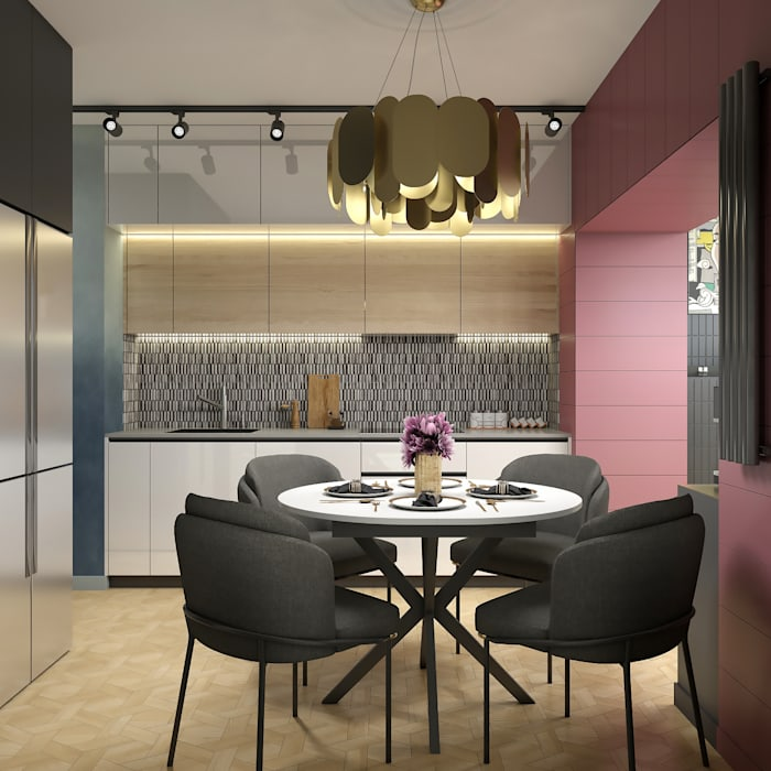 Kitchen by Wide Design Group, Eclectic