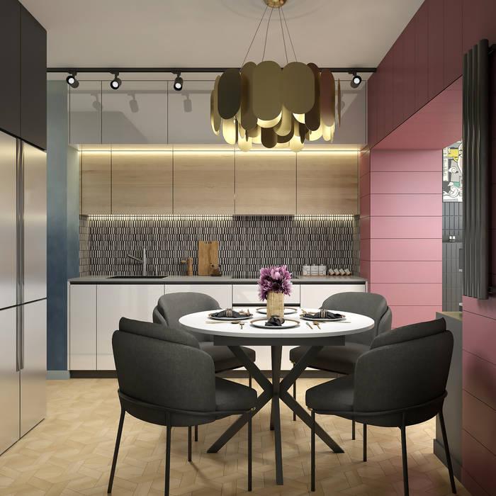 «Harmony»: Кухни в . Автор – Wide Design Group, Эклектичный