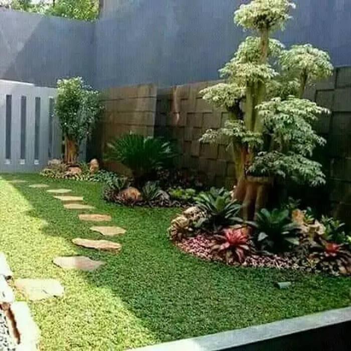 Tukang Taman Murah Taman Tropis Oleh Tukang Taman Surabaya - Tianggadha-art Tropis Batu