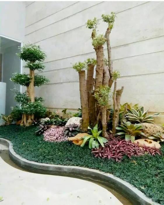 Tukang Taman Kering Oleh Tukang Taman Surabaya - Tianggadha-art Tropis Batu