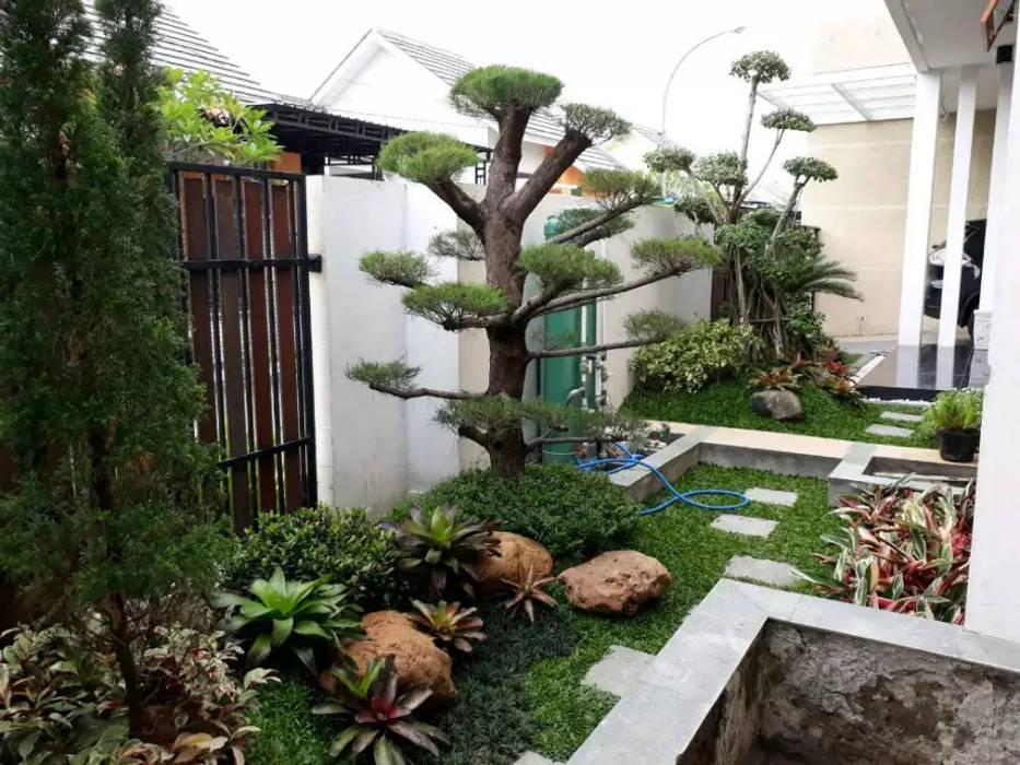 Tukang Taman Profesional Oleh Tukang Taman Surabaya - Tianggadha-art Minimalis Batu