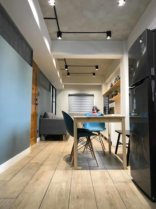 Dining area:  Dining room by Jeff See Architects, Modern