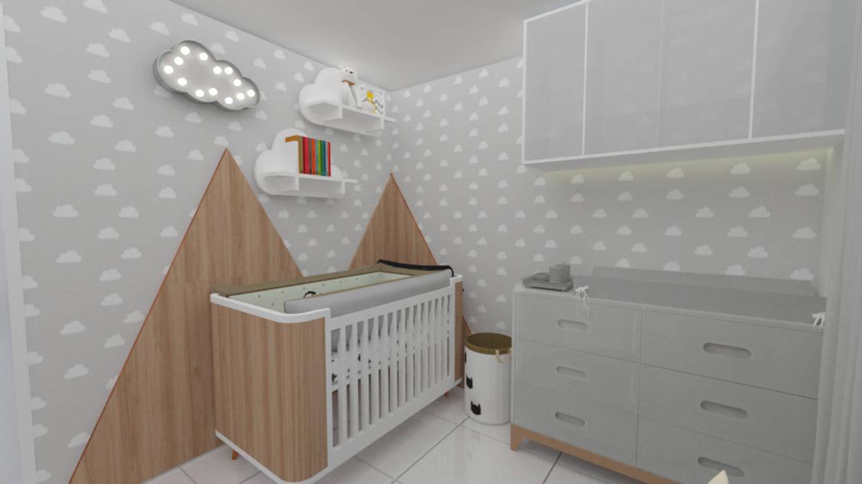 Quarto de Bebê por Designer de Interiores - Gabriela Soares Moderno