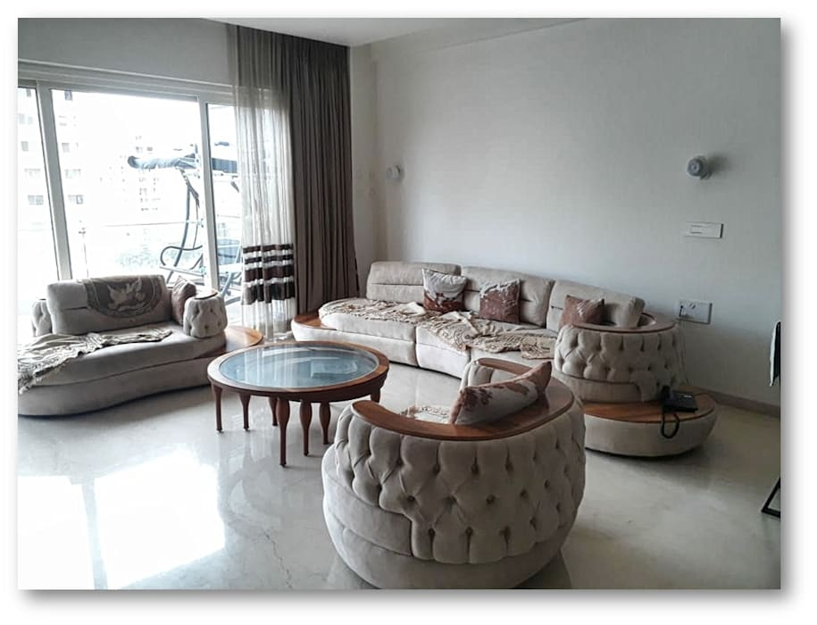 Living Room | Sofa: modern  by Homagica Services Private Limited,Modern