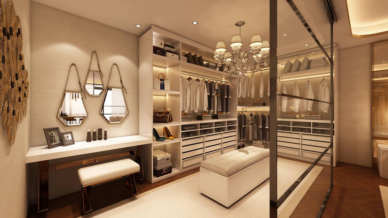 Suite Penthouse Geneva Closets modernos por Alpha Details Moderno