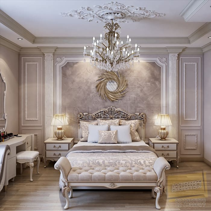 Master Bedroom من Archeffect كلاسيكي