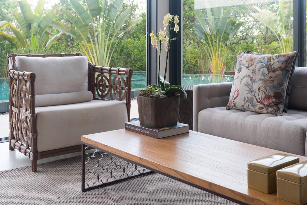 Home Decor C A: Varandas  por Carolina Fagundes - Arquitetura e Interiores,Moderno