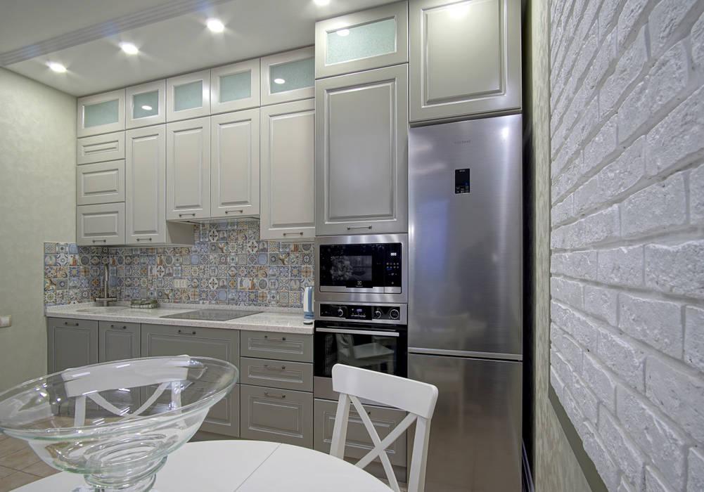 Kitchen by Студия интерьерного дизайна happy.design, Modern