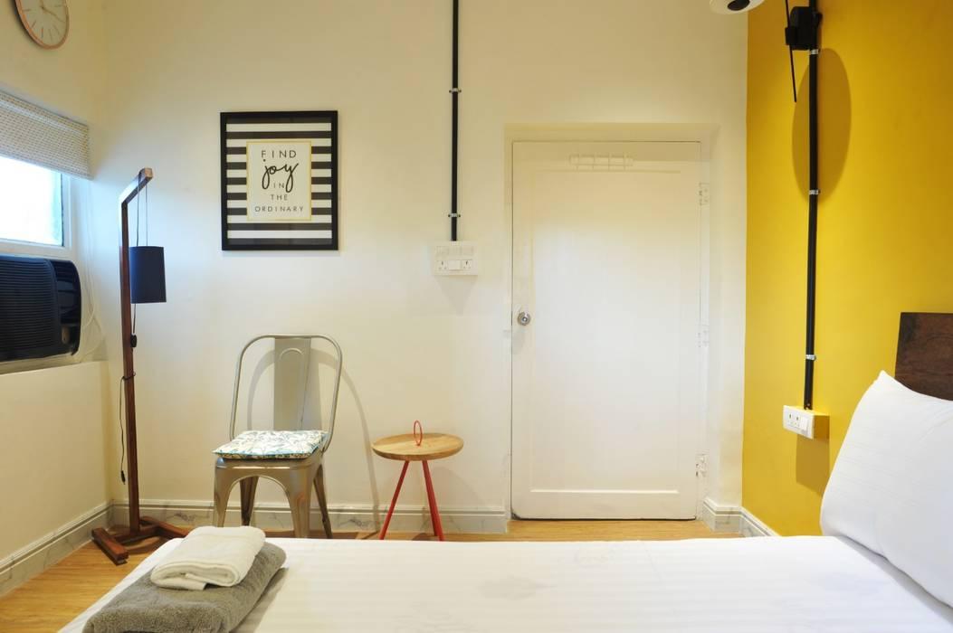 Air bnb C-scheme Jaipur flamingo architects Small bedroom