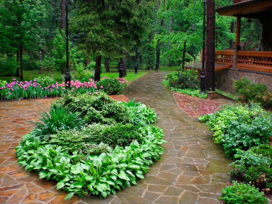 Jardines de estilo ecléctico de Primula Ecléctico