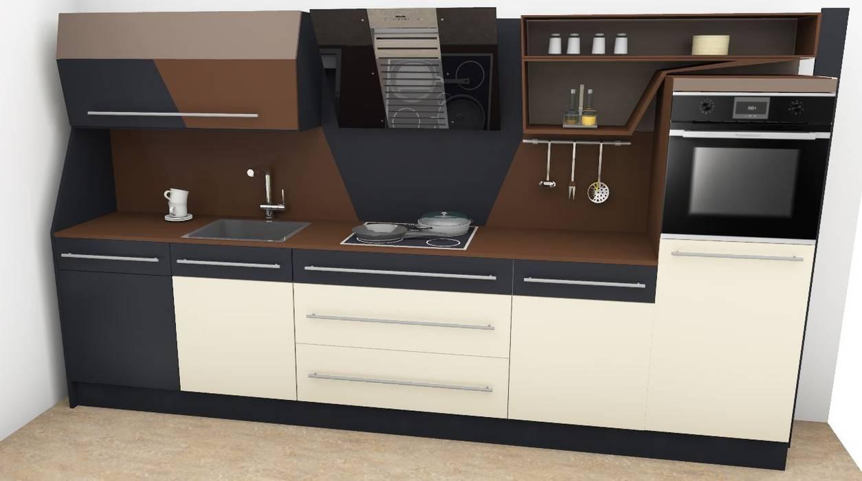 Küchenzeile von higloss-design.de - Ihr Küchenhersteller Modern