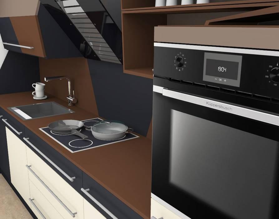 Details: Herd und Spüle higloss-design.de - Ihr Küchenhersteller Küchenzeile