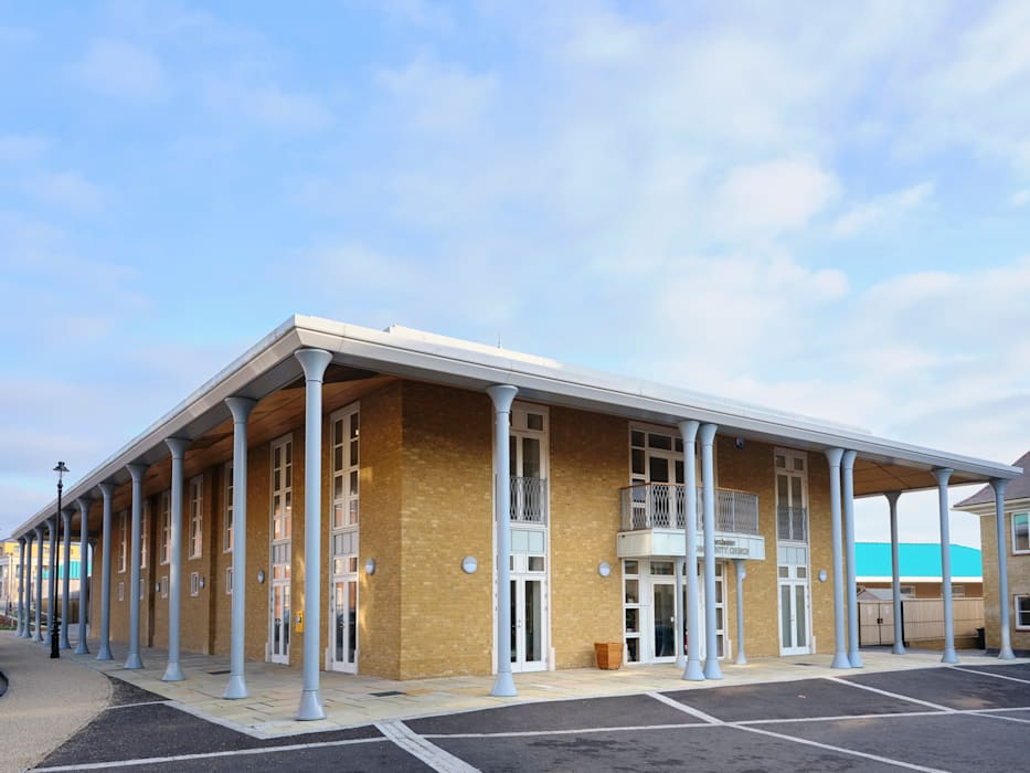 Dorchester Community Church Rumah Modern Oleh Hart Design and Construction Modern