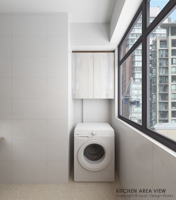 Washing area by Swish Design Works Modern