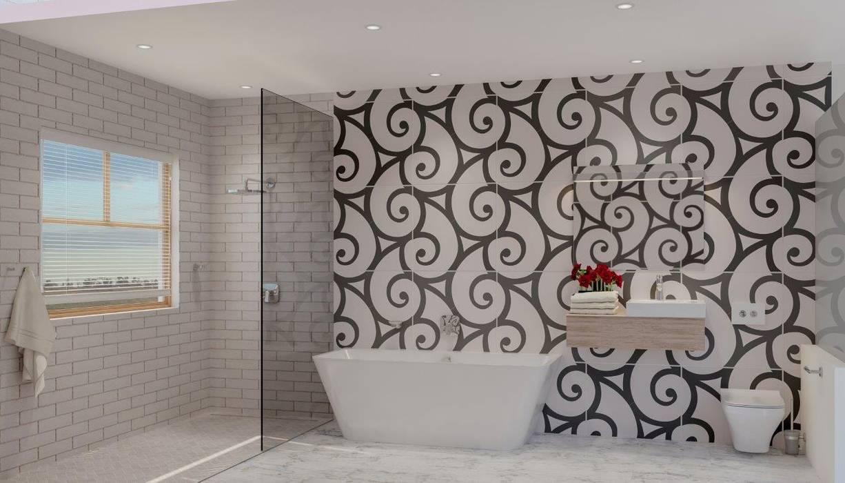 After Bathroom Modern bathroom by Deborah Garth Interior Design International (Pty)Ltd Modern