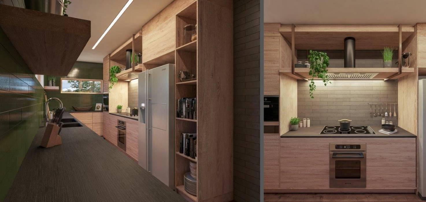 Kitchen After Modern kitchen by Deborah Garth Interior Design International (Pty)Ltd Modern