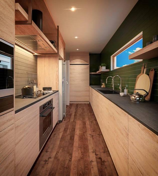 Moderne Küchen von Deborah Garth Interior Design International (Pty)Ltd Modern