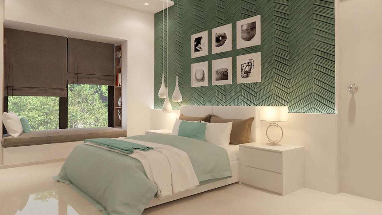 Guest Bedroom Modern style bedroom by De Panache - Interior Architects Modern