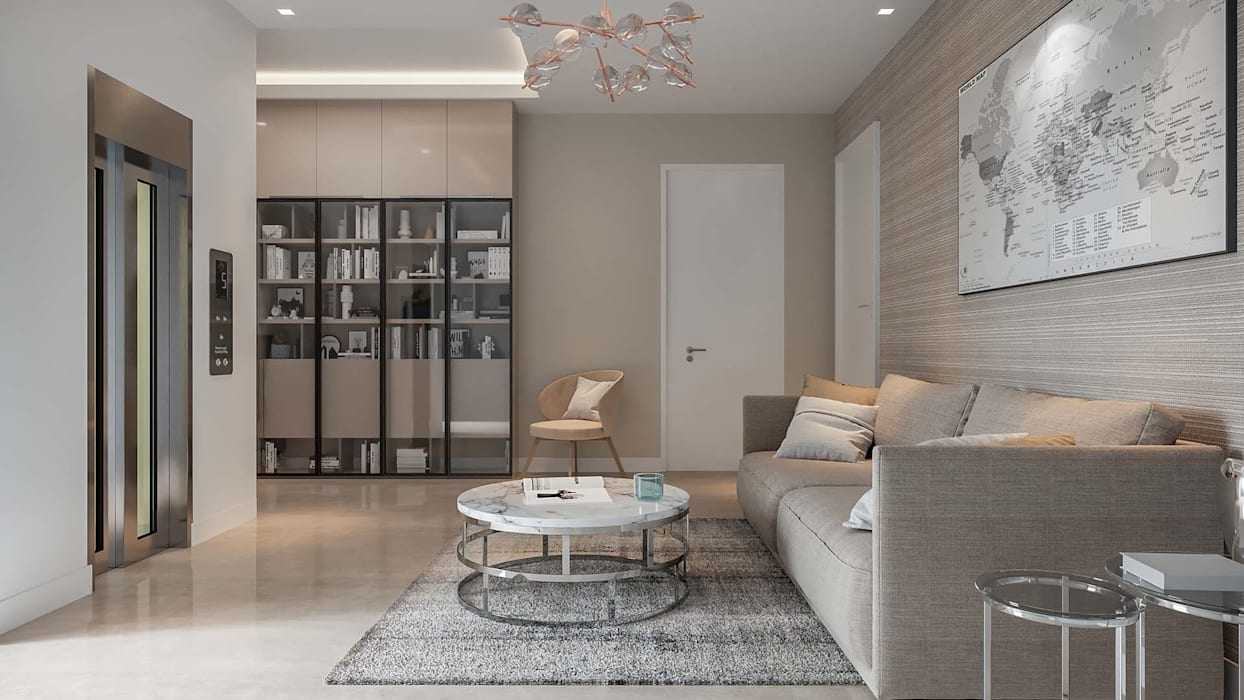 Family Living Room Modern living room by De Panache - Interior Architects Modern