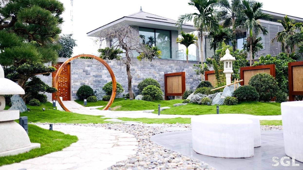 SỎI ĐÁ:  Vườn thiền by SGL LANDSCAPE ARCHITECTURE CO.,LTD,