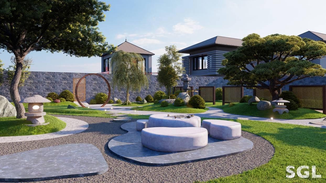 توسط SGL LANDSCAPE ARCHITECTURE CO.,LTD آسیایی