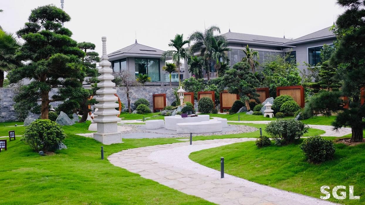 LỐI ĐI DẠO bởi SGL LANDSCAPE ARCHITECTURE CO.,LTD Châu Á
