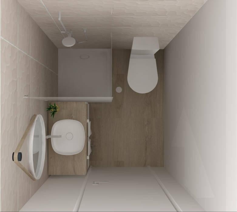 Baños de estilo moderno de D_SIGN PROJECT Moderno