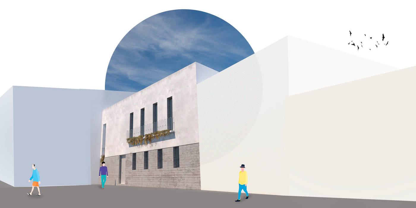 Maisons modernes par POA Estudio Arquitectura y Reformas en Córdoba Moderne