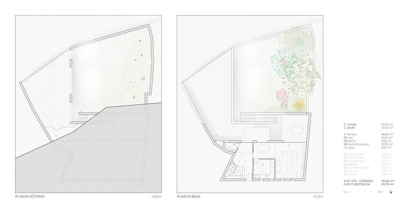Garasi Modern Oleh POA Estudio Arquitectura y Reformas en Córdoba Modern