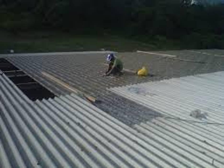 Sellado de Grietas de Vez Rodriguez Construcción y Mantenimiento. Industrial