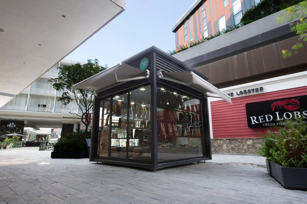 Quioscos BKT mobiliario urbano JardínMobiliario