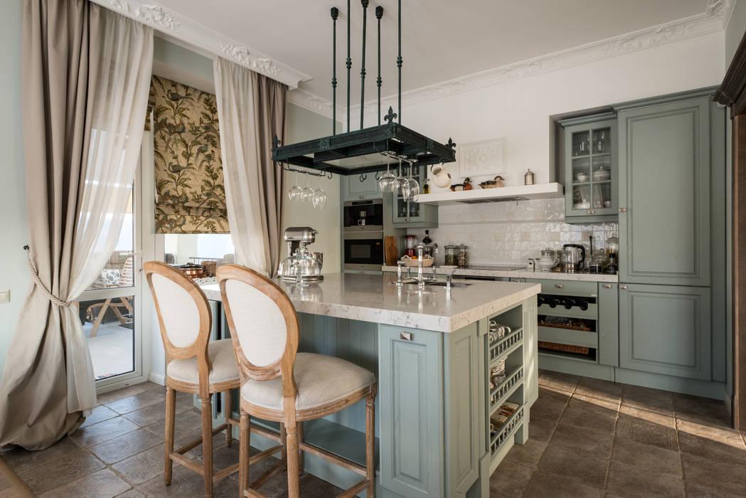 Cocinas de estilo  por SJull Design, Clásico